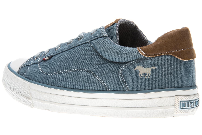 Mustang Shoes Sneaker in Übergrößen sky 1272-301-875 große Damenschuhe – Bild 2