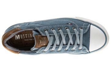 Mustang Shoes Sneaker in Übergrößen sky 1272-301-875 große Damenschuhe – Bild 6