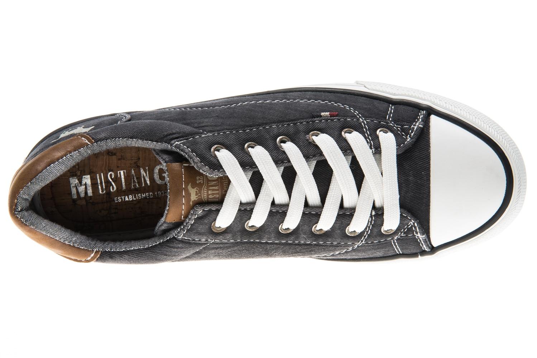 Mustang Shoes Sneaker in Übergrößen schwarz 1272-301-9 große Damenschuhe – Bild 6
