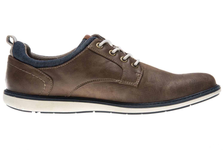 Mustang Shoes Halbschuhe in Übergrößen braun 4111-304-3 große Herrenschuhe – Bild 4