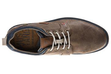 Mustang Shoes Halbschuhe in Übergrößen braun 4111-304-3 große Herrenschuhe – Bild 6