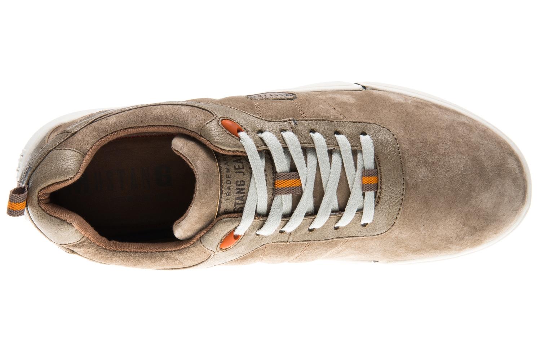 Mustang Shoes Halbschuhe in Übergrößen taupe 4122-303-318 große Herrenschuhe – Bild 7