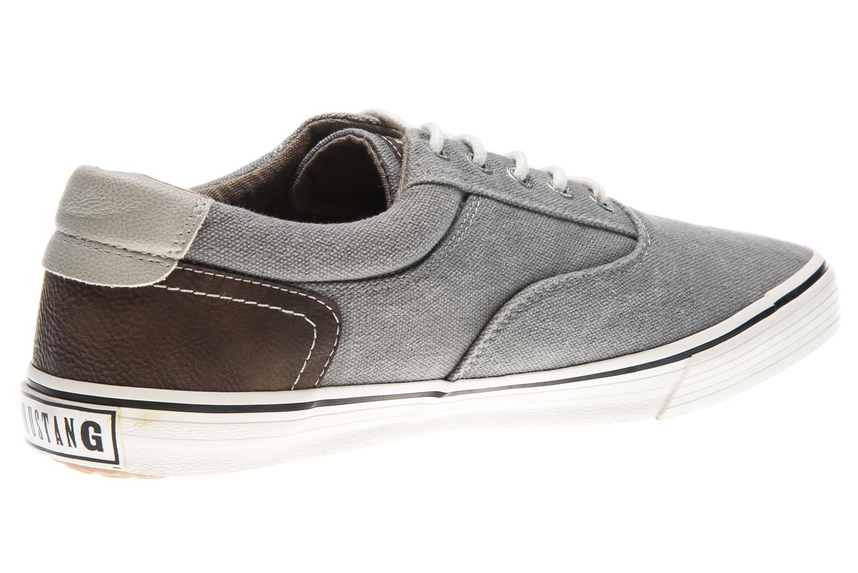 Mustang Shoes Sneaker in Übergrößen grau 4101-301-2 große Herrenschuhe – Bild 3