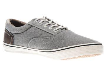 Mustang Shoes Sneaker in Übergrößen grau 4101-301-2 große Herrenschuhe – Bild 5