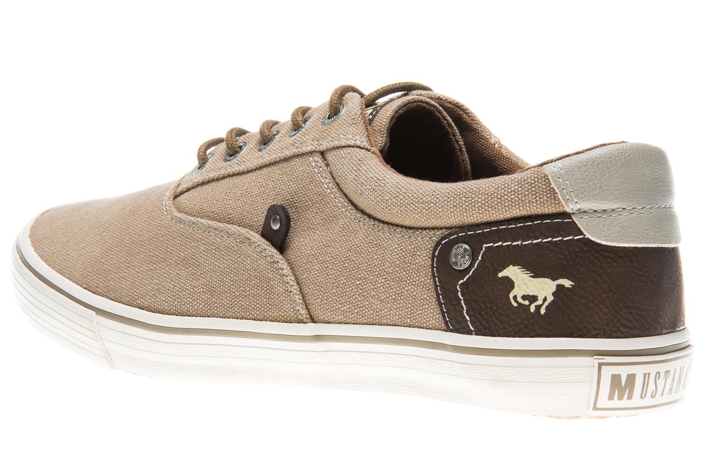 Mustang Shoes Sneaker in Übergrößen sand 4101-301-44 große Herrenschuhe – Bild 2