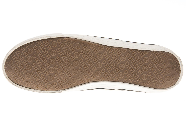 Mustang Shoes Sneaker in Übergrößen khaki 4101-301-777 große Herrenschuhe – Bild 6