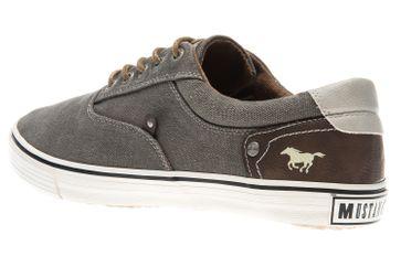 Mustang Shoes Sneaker in Übergrößen khaki 4101-301-777 große Herrenschuhe – Bild 2