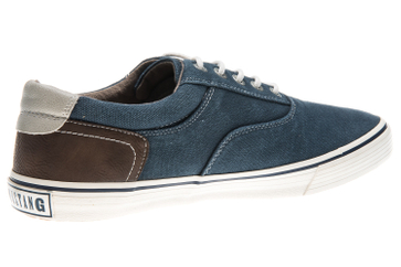 Mustang Shoes Sneaker in Übergrößen dunkelblau 4101-301-800 große Herrenschuhe – Bild 3