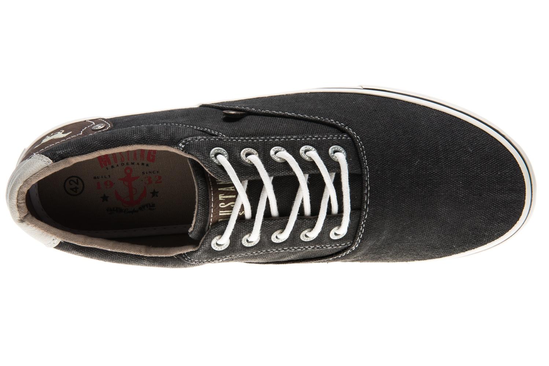 Mustang Shoes Sneaker in Übergrößen schwarz 4101-301-9 große Herrenschuhe – Bild 7