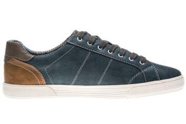 Mustang Shoes Sneaker in Übergrößen Blau 4120-303-810 große Herrenschuhe – Bild 4