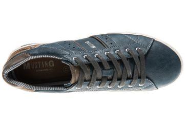 Mustang Shoes Sneaker in Übergrößen Blau 4120-303-810 große Herrenschuhe – Bild 7