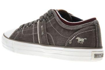 Mustang Shoes Sneaker in Übergrößen dunkelgrau 4127-303-20 große Herrenschuhe – Bild 2
