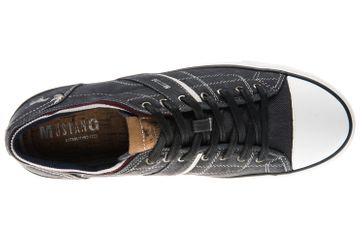 Mustang Shoes Sneaker in Übergrößen schwarz 4127-303-9 große Herrenschuhe – Bild 7