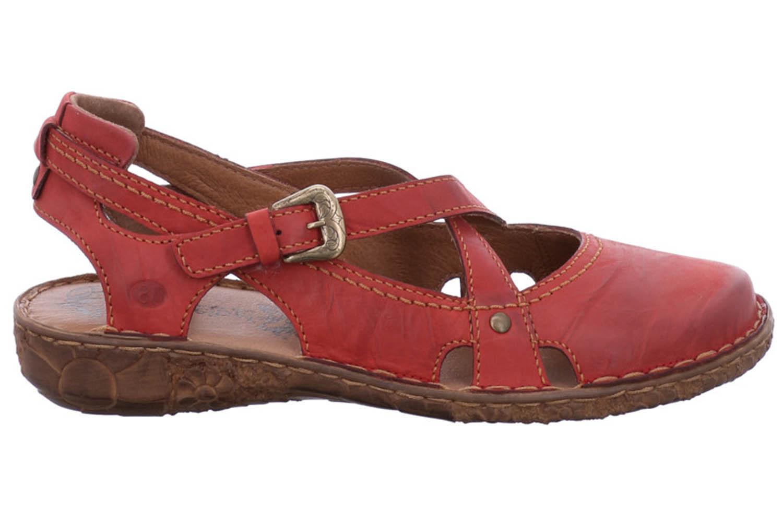 Josef Seibel Rosalie 13 Sandalen in Übergrößen Rot 79513 95 450 große Damenschuhe – Bild 4