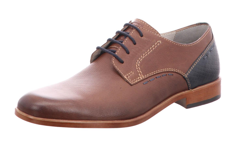 FRETZ MEN Business Schuhe in Übergrößen 7120.1280-82 große Herrenschuhe – Bild 1
