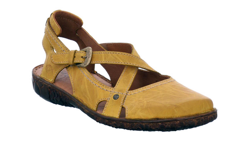 Josef Seibel Rosalie 13 Sandalen in Übergrößen Gelb 79513 95 850 große Damenschuhe – Bild 5