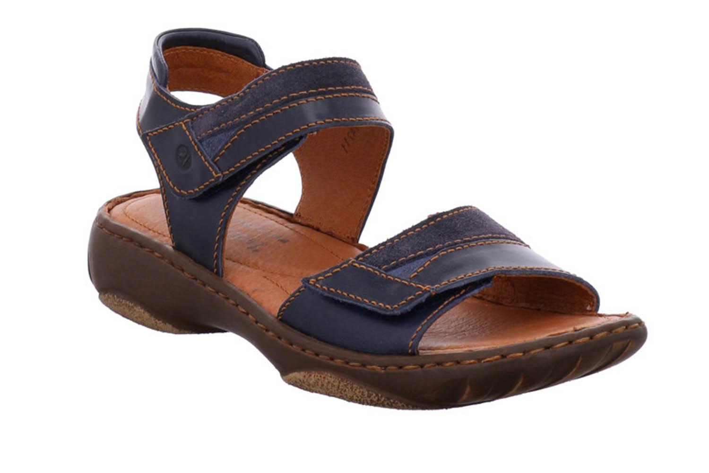 Josef Seibel SMU-Debra 19 Sandalen in Übergrößen Blau 76719 4413 596 große Damenschuhe – Bild 5