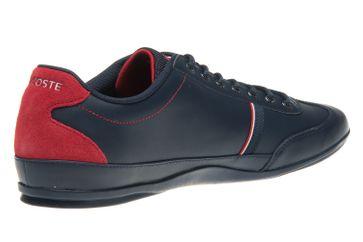 LACOSTE Sneaker in Übergrößen Blau 7-35CAM0083144 große Herrenschuhe – Bild 3