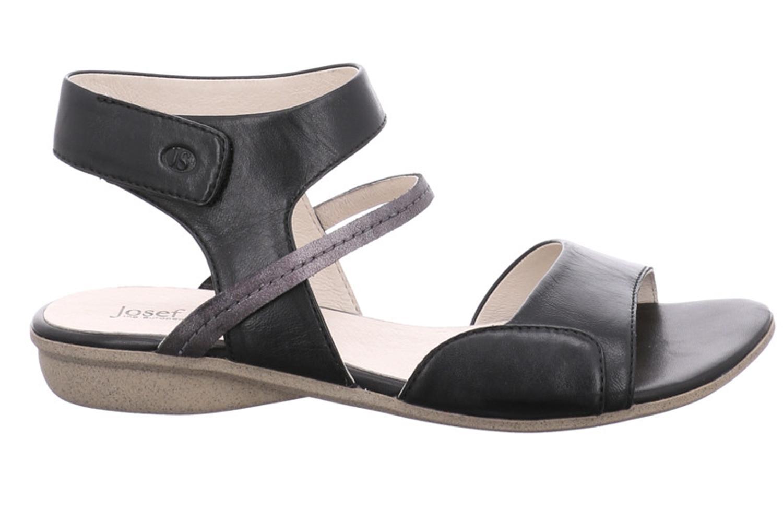 Josef Seibel Fabia 05 Sandalen in Übergrößen Schwarz 87505 852 101 große Damenschuhe – Bild 4