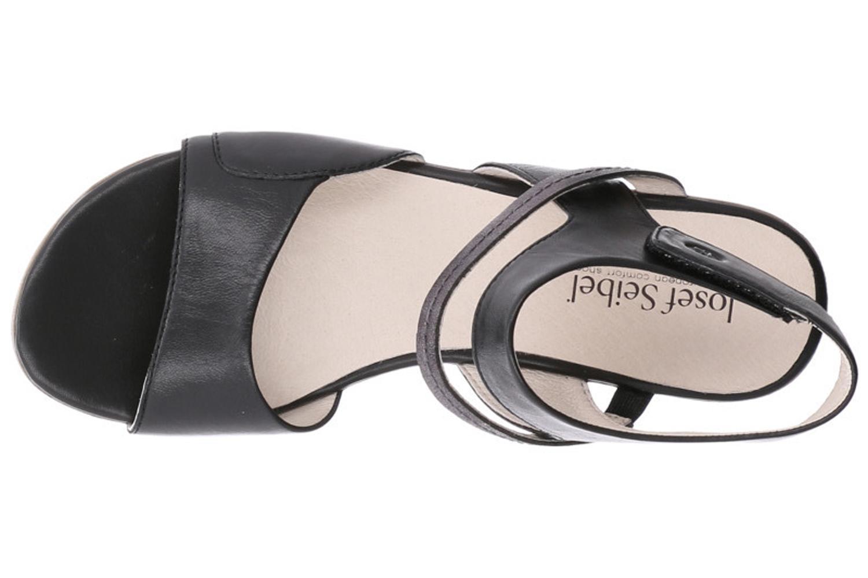 Josef Seibel Fabia 05 Sandalen in Übergrößen Schwarz 87505 852 101 große Damenschuhe – Bild 7