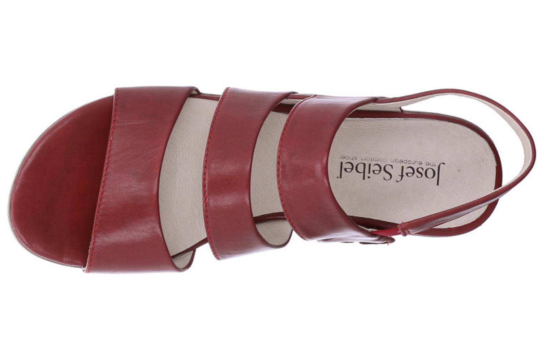 Josef Seibel Fabia 11 Sandalen in Übergrößen Rot 87511 971 460 große Damenschuhe – Bild 7