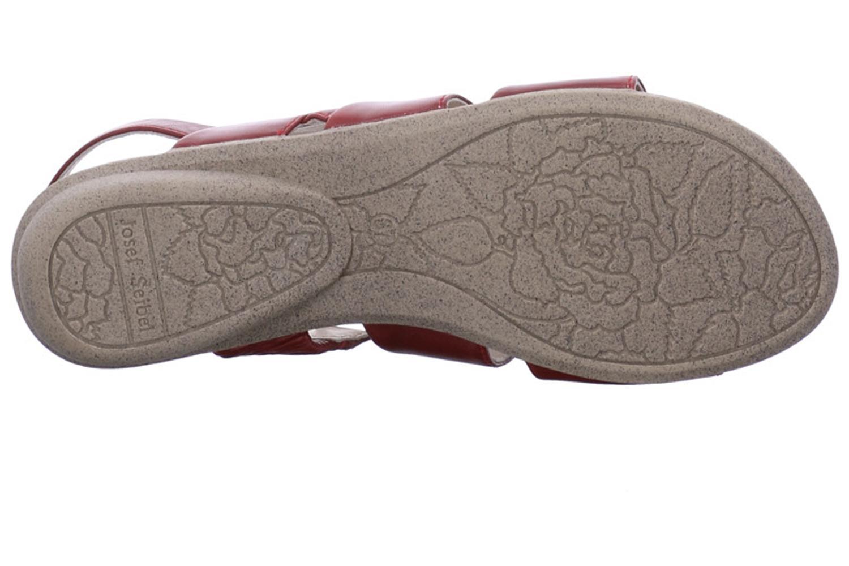 Josef Seibel Fabia 11 Sandalen in Übergrößen Rot 87511 971 460 große Damenschuhe – Bild 8