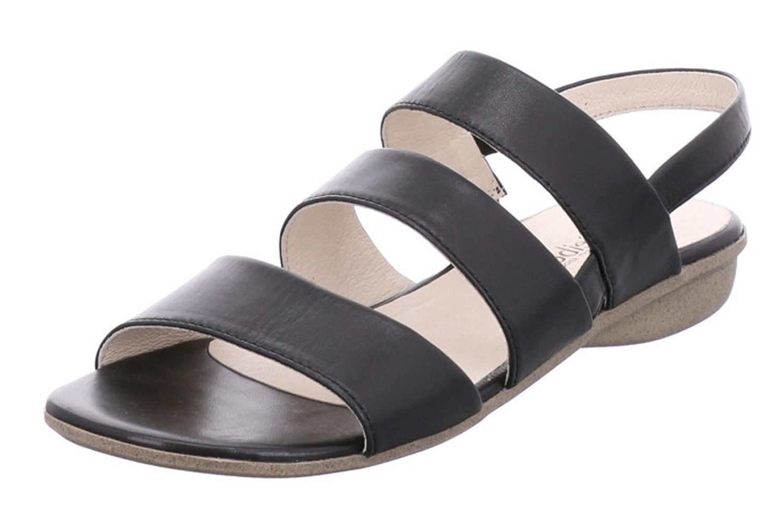 Josef Seibel Fabia 11 Sandalen in Übergrößen Schwarz 87511 971 100 große Damenschuhe – Bild 1