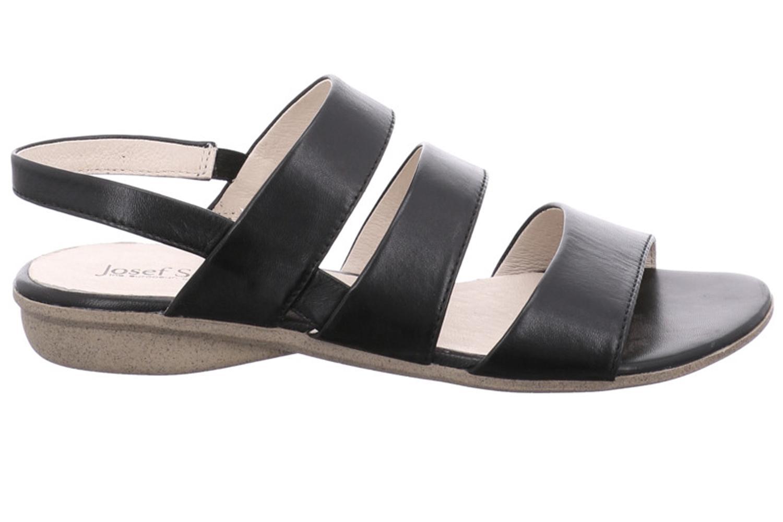 Josef Seibel Fabia 11 Sandalen in Übergrößen Schwarz 87511 971 100 große Damenschuhe – Bild 4