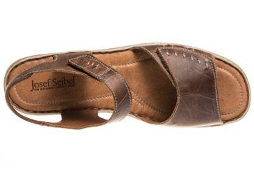 Josef Seibel Lisa 01 Sandalen in Übergrößen Braun 73715 9513 234 große Damenschuhe – Bild 6