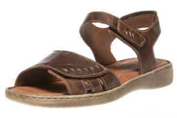 Josef Seibel Lisa 01 Sandalen in Übergrößen Braun 73715 9513 234 große Damenschuhe – Bild 1