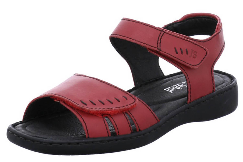 Josef Seibel Lisa 01 Sandalen in Übergrößen Rot 73715 2313 380 große Damenschuhe – Bild 1