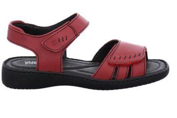 Josef Seibel Lisa 01 Sandalen in Übergrößen Rot 73715 2313 380 große Damenschuhe – Bild 4