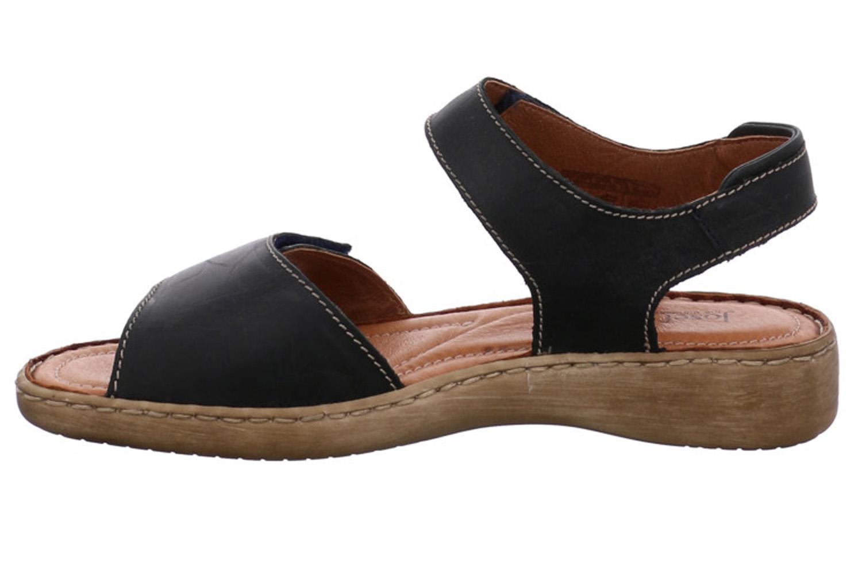 Josef Seibel Lisa 01 Sandalen in Übergrößen Blau 73715 9513 517 große Damenschuhe – Bild 2
