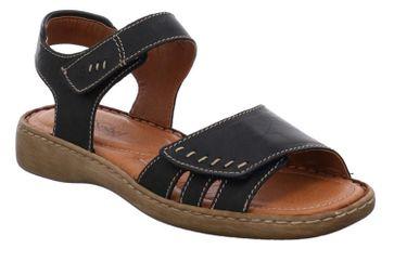 Josef Seibel Lisa 01 Sandalen in Übergrößen Blau 73715 9513 517 große Damenschuhe – Bild 5
