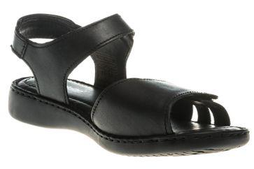 Josef Seibel Lisa 01 Sandalen in Übergrößen Schwarz 73715 2313 600 große Damenschuhe – Bild 5