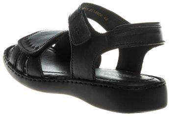 Josef Seibel Lisa 01 Sandalen in Übergrößen Schwarz 73715 2313 600 große Damenschuhe – Bild 2