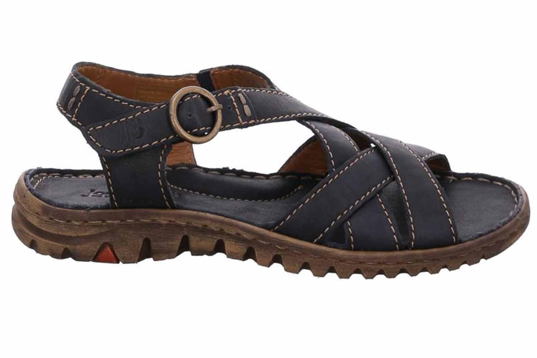 Josef Seibel Lucia 01 Sandalen in Übergrößen Blau 63801 343 500 große Damenschuhe – Bild 4