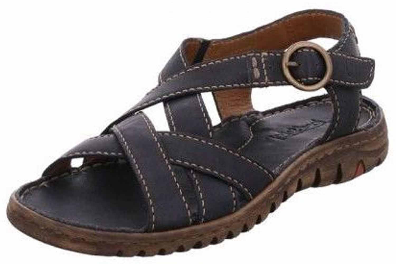 Josef Seibel Lucia 01 Sandalen in Übergrößen Blau 63801 343 500 große Damenschuhe – Bild 1