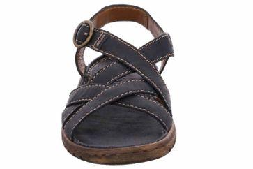 Josef Seibel Lucia 01 Sandalen in Übergrößen Blau 63801 343 500 große Damenschuhe – Bild 6