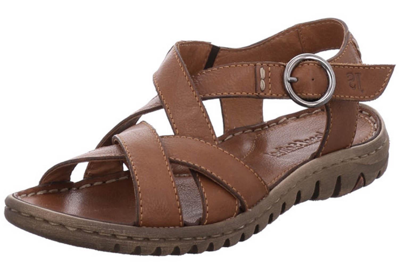 Josef Seibel Lucia 01 Sandalen in Übergrößen Braun 63801 343 350 große Damenschuhe – Bild 1