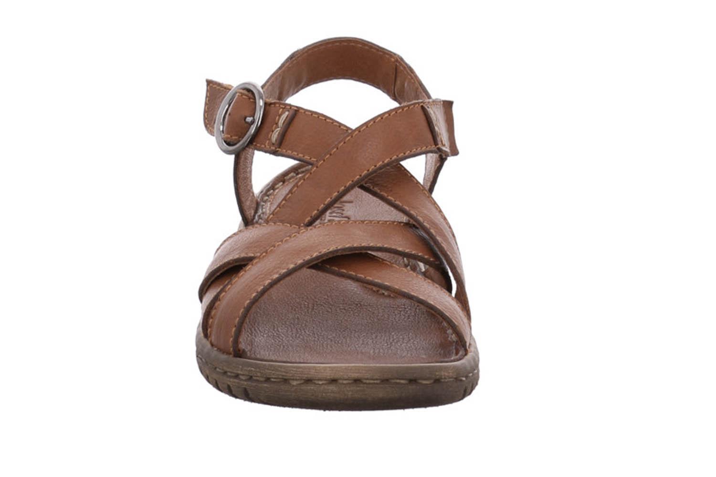 Josef Seibel Lucia 01 Sandalen in Übergrößen Braun 63801 343 350 große Damenschuhe – Bild 6
