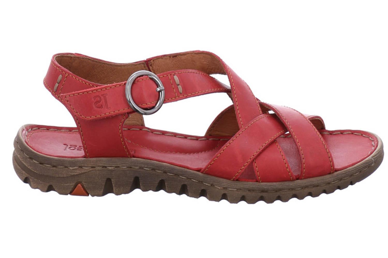 Josef Seibel Lucia 01 Sandalen in Übergrößen Rot 63801 343 400 große Damenschuhe – Bild 4