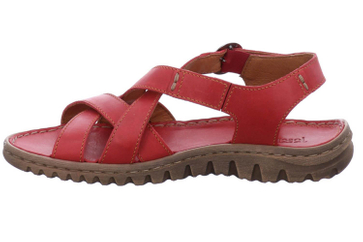 Josef Seibel Lucia 01 Sandalen in Übergrößen Rot 63801 343 400 große Damenschuhe – Bild 2