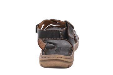 Josef Seibel Lucia 01 Sandalen in Übergrößen Schwarz 63801 343 100 große Damenschuhe – Bild 3