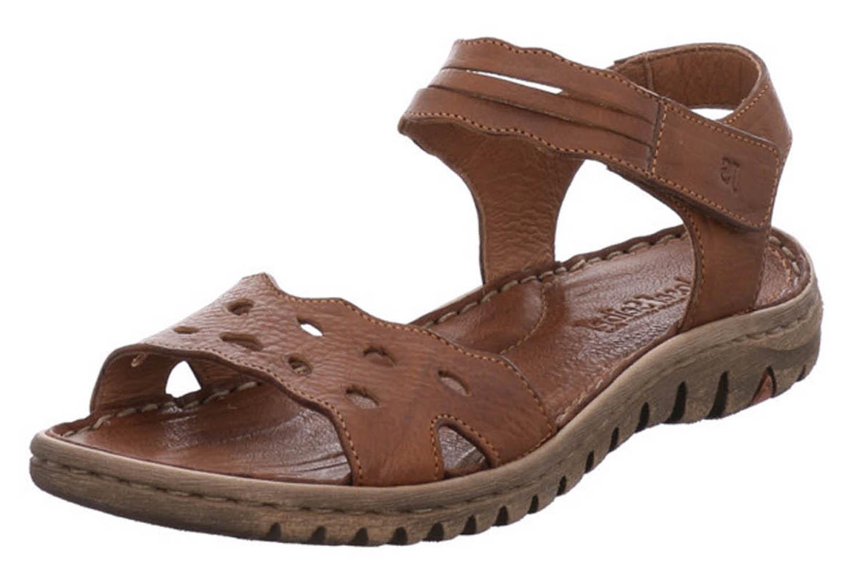 Josef Seibel Lucia 07 Sandalen in Übergrößen Braun 63807 343 350 große Damenschuhe – Bild 1