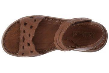 Josef Seibel Lucia 07 Sandalen in Übergrößen Braun 63807 343 350 große Damenschuhe – Bild 7