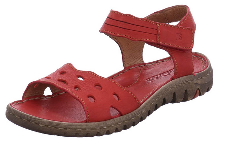 Josef Seibel Lucia 07 Sandalen in Übergrößen Rot 63807 343 400 große Damenschuhe – Bild 1
