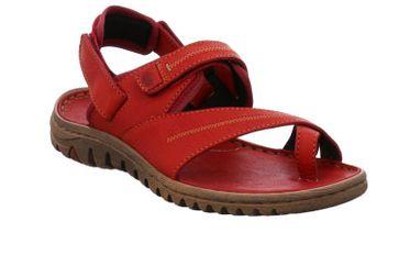 Josef Seibel Lucia 11 Sandalen in Übergrößen Rot 63811 344 400 große Damenschuhe – Bild 5