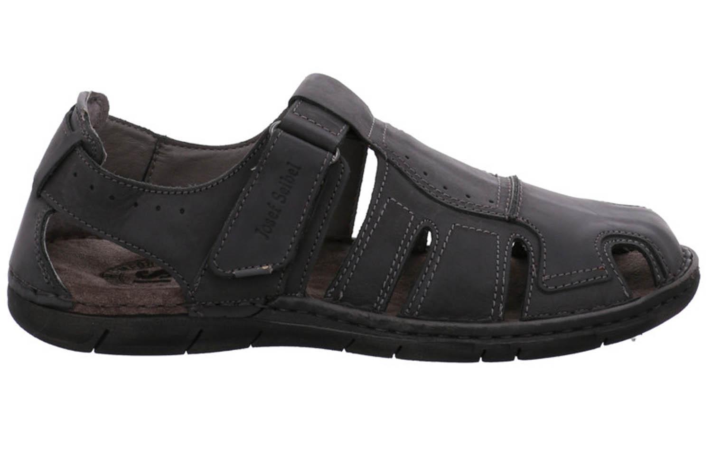 Josef Seibel Paul 15 Sandalen in Übergrößen Schwarz 43215 768 100 große Herrenschuhe – Bild 4
