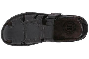 Josef Seibel Paul 15 Sandalen in Übergrößen Schwarz 43215 768 100 große Herrenschuhe – Bild 7